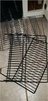 Decorative metal stand w hook, Cooling racks,