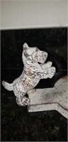 Metal scottie dog? Paper towel holder