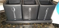 Oster mixer, silverware holder