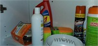 Entire Contents of Laundry Room Cabinet