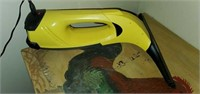 Yellow Karcher Cordless Steamer & Charger