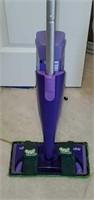 Purple Swiffer Green Glider Mop