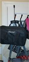 Lot of Household Bags & Over the Door Hanger