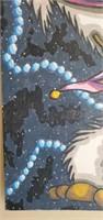 Very Neat Dan Haggerty Painting on Board