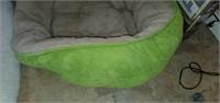 Lot of 2 Large Fabricated Dog Beds