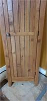 Very Nice Wooden Shelving Cabinet with Door
