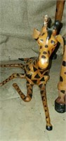 Set of 3 Decorative Leather Giraffe's