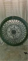 Large Beautiful Round Metal Decorative Wall Art