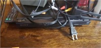 Estate lot of a sony dvd player, candle holder,