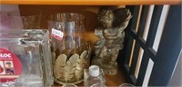 Estate lot of cups and vases