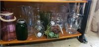 Estate lot of vases