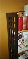 5 tier wood rsck foldable