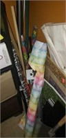 Estate lot of wrapping paper, ect