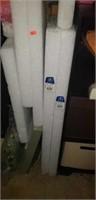 Lot of styrofoam