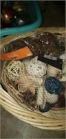 Basket full of decor