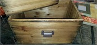 Lot of 2 Vintage Wooden Decorative Boxes