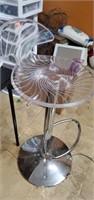 Super Neat Plastic Swivel Barstool Chair