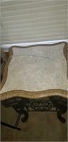 Beautiful marble top elephant leg table