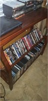 Wood dvd player