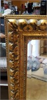 Beautiful Gold Gilded Framed Bevelled Glass Mirror