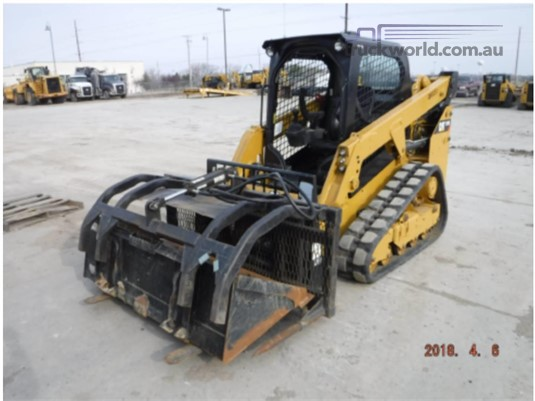 2017 Caterpillar 249D - Heavy Machinery for Sale