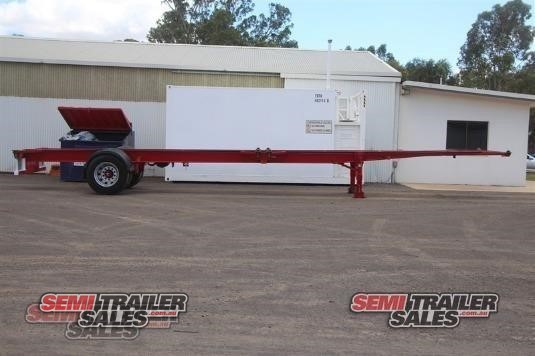 2017 Elite Trailers Skeletal Trailer Semi Trailer Sales - Trailers for Sale