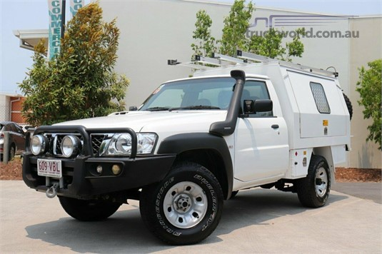 2014 Nissan Patrol Y61 Series 4 MY14 DX - Light Commercial for Sale