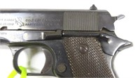 Colt Model of 1911 US Army Pistol cal. 45 SN: