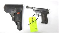 Walther P38 Pistol cal. 9mm SN: 7814 c with Post