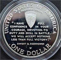 WWII 3 COIN 1/4 OZ GOLD/ 1 OZ SILVER - PROOF SET