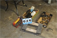 Lot of Assort. Tools & Machine Accessories
