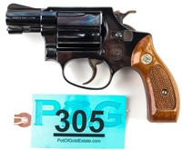 Gun S&W Model 36 DA/SA Revolver in 38 SPL