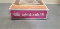 Vintage latch hook kit