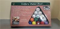 Vintage Golfer's Putter Pool