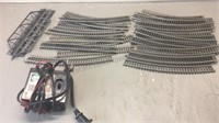 Lot of Steel HO Scale Track