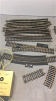 Lot of Brass HO Scale Track