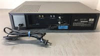 Zenith VHS Player Powers on