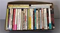 Box lot of Vintage Paperback Books