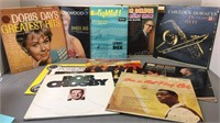 Lot of Records Includes Doris Day