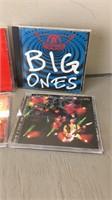 Lot of Rock CDs Beatles &!Aero Smith