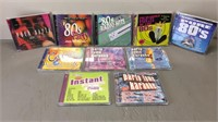 Lot of 80's Party CDs