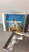 Lot of CDs Elton John Beatles, Sting, Scorpions