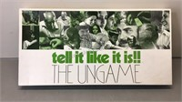Vintage Tell it Like it is!! THE UNGAME