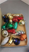 Lot of Unbreakable Christmas Ornaments