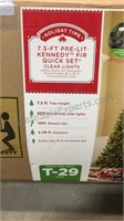 Used 7 1/2 Foot Artificial Christmas Tree