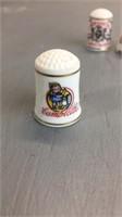 Lot of 4 Ceramic Thimbles