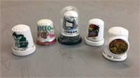 Lot of Collectable Thimbles