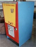 Vintage Caltex Five Cent Post Card Machine