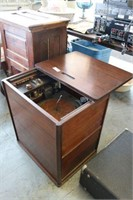 Ansley Antique Slide Top Stereo