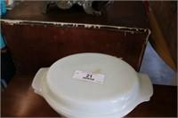 Vintage Fire King Casserole Dish w/Lid